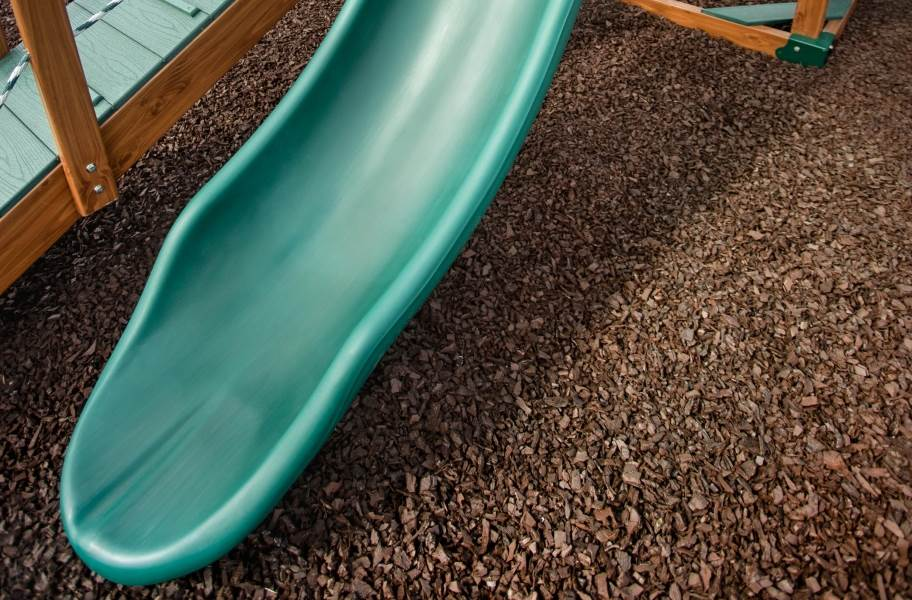 Playground Rubber Mulch - Bulk - Earthtone