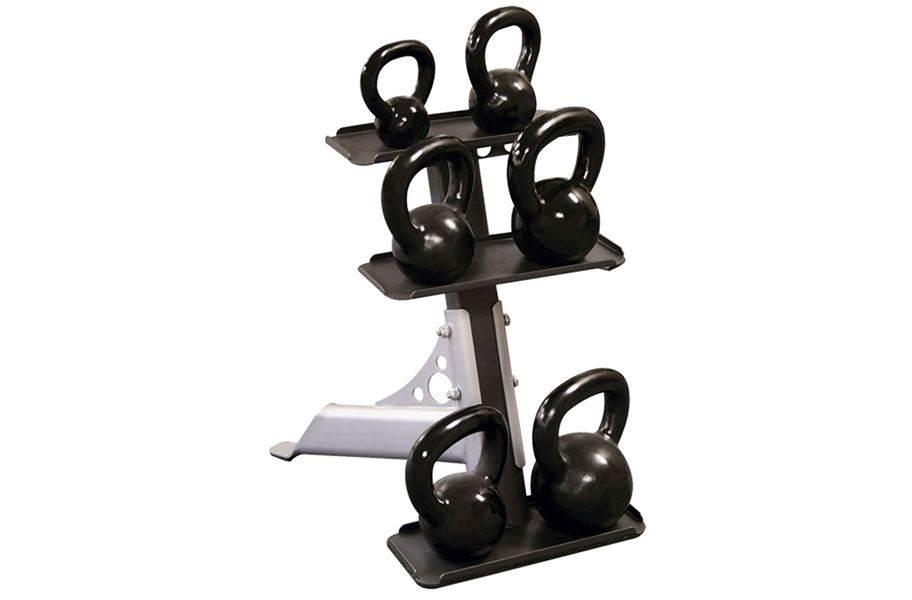 Body-Solid 3-Tier Kettlebell Rack