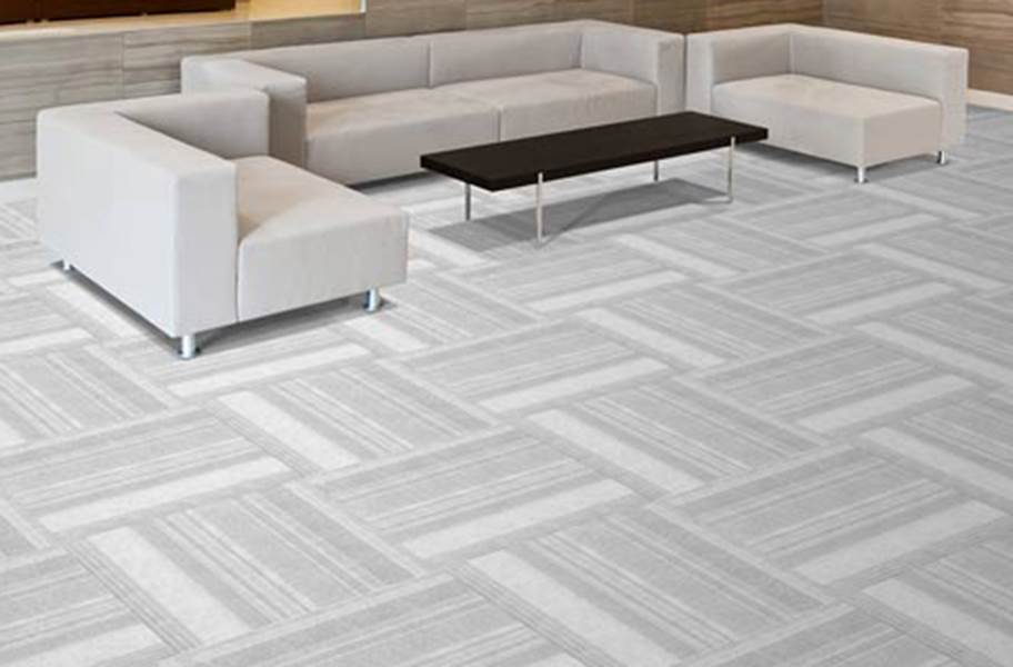 On Trend Carpet Tiles - Dove
