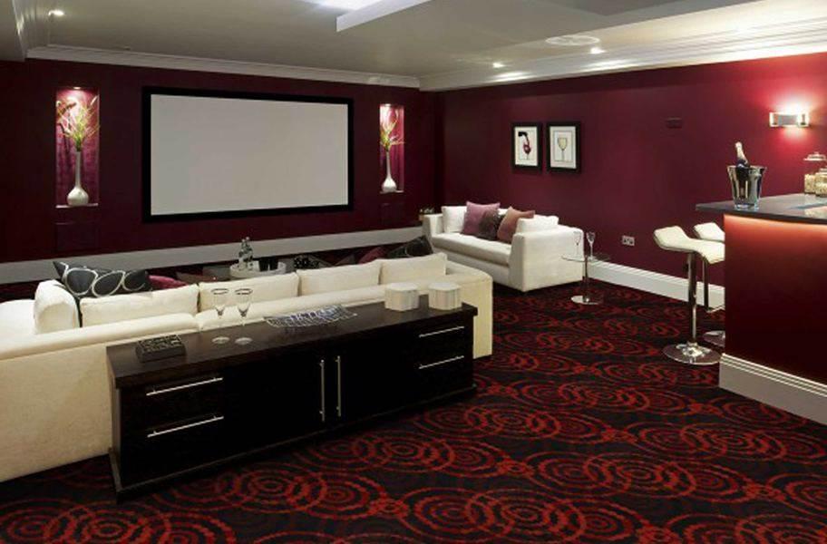 Joy Carpets Dottie Carpet - Ruby