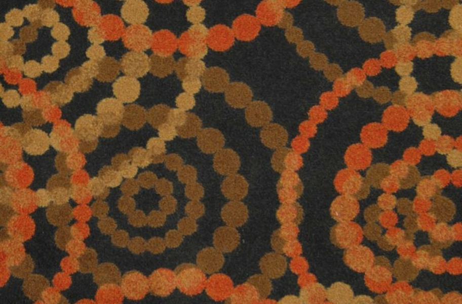 Joy Carpets Dottie Carpet - Warm Earth