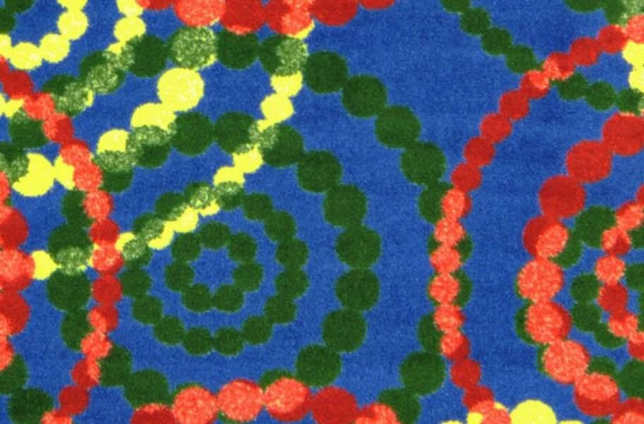 Joy Carpets Dottie Carpet - Rainbow