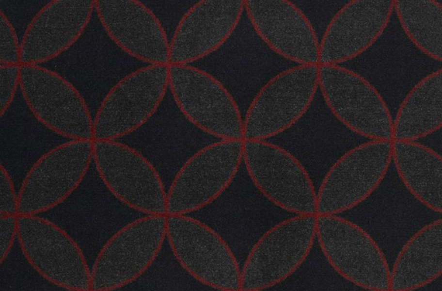 Joy Carpets Eclipse Carpet - Red