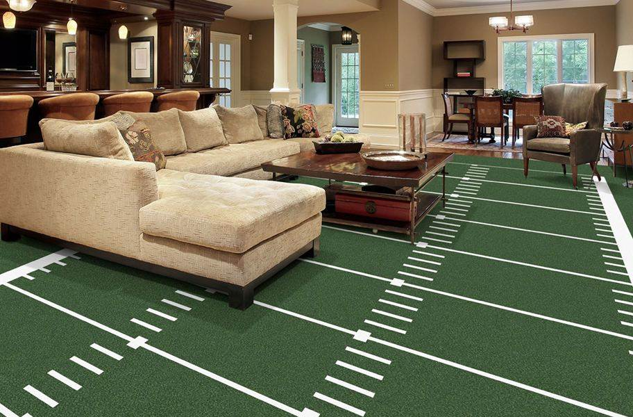 Joy Carpets Gridiron Carpet - Field