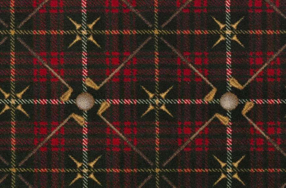 Joy Carpets Saint Andrews Carpet - Tartan Green