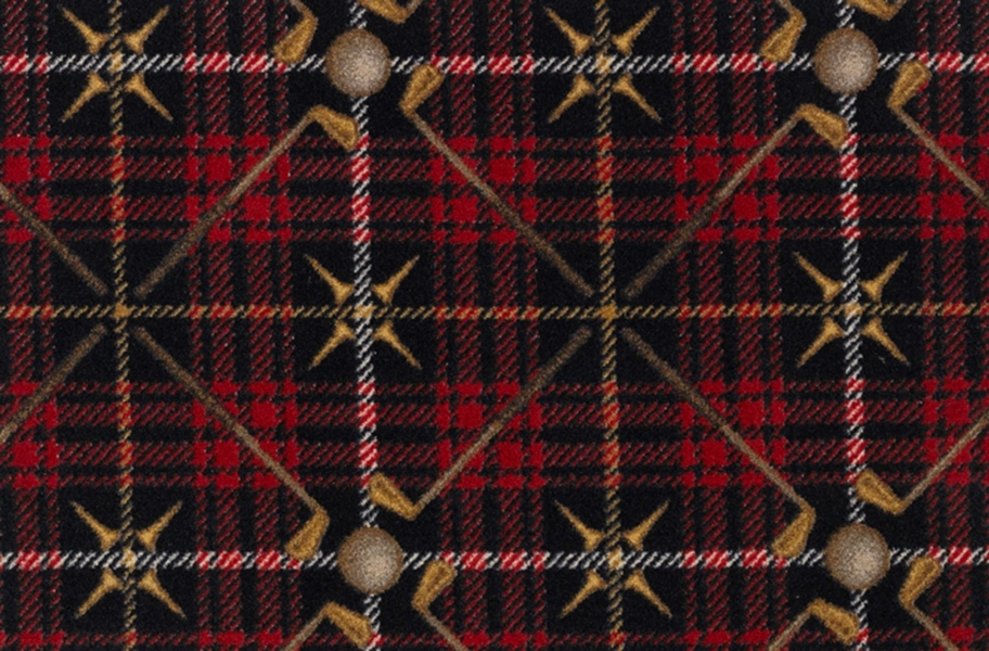 Joy Carpets Saint Andrews Carpet - Lumberjack Red