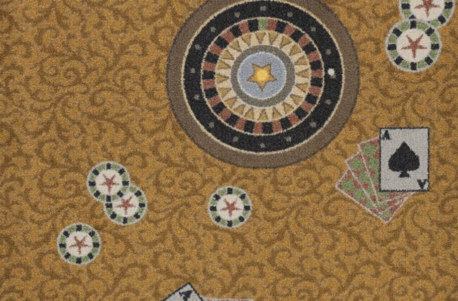 Joy Carpets Inside Bet Carpet - Gold