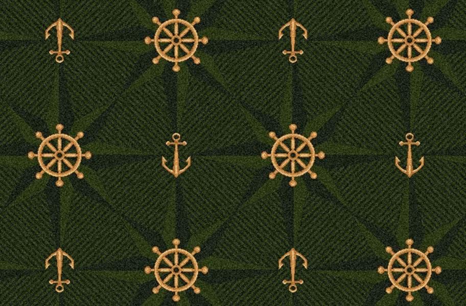 Joy Carpets Mariner's Tale Carpet - Emerald
