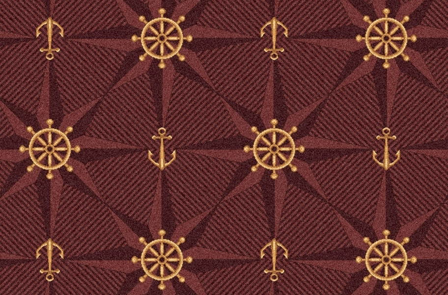 Joy Carpets Mariner's Tale Carpet - Wine