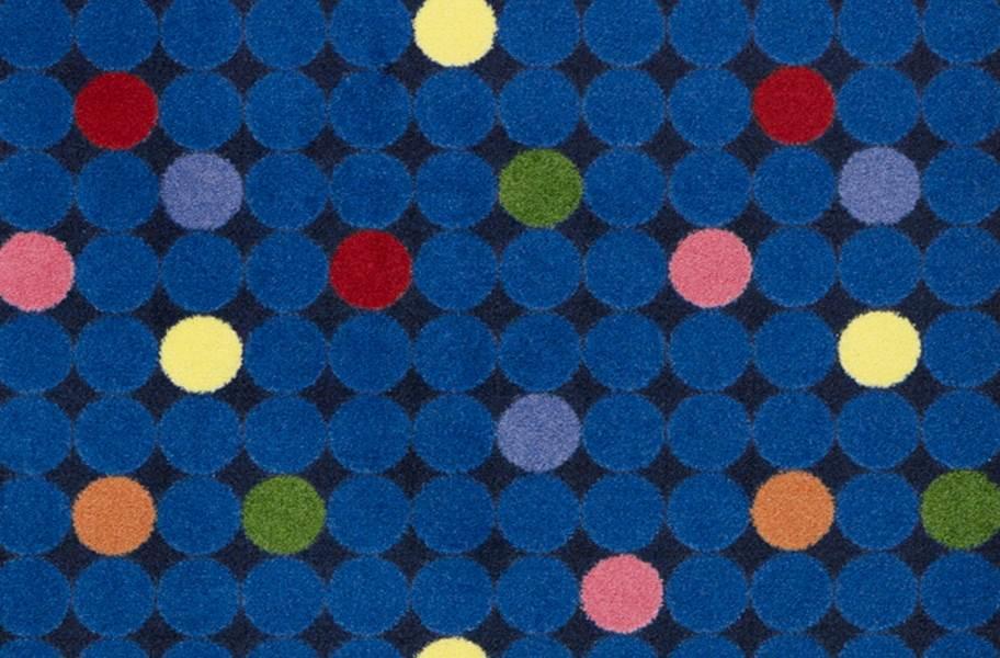 Joy Carpets Spot On Carpet - Rainbow