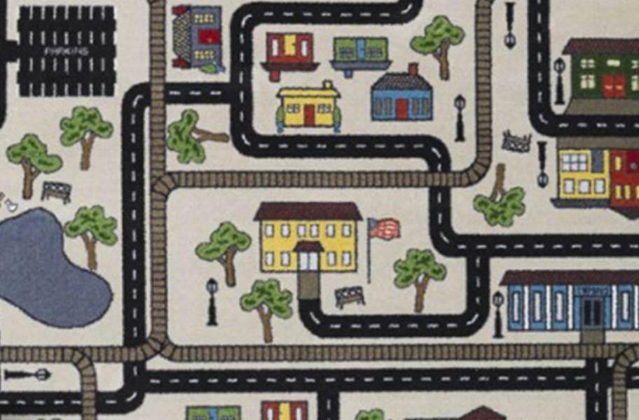 Joy Carpets Tiny Town Carpet - Pewter