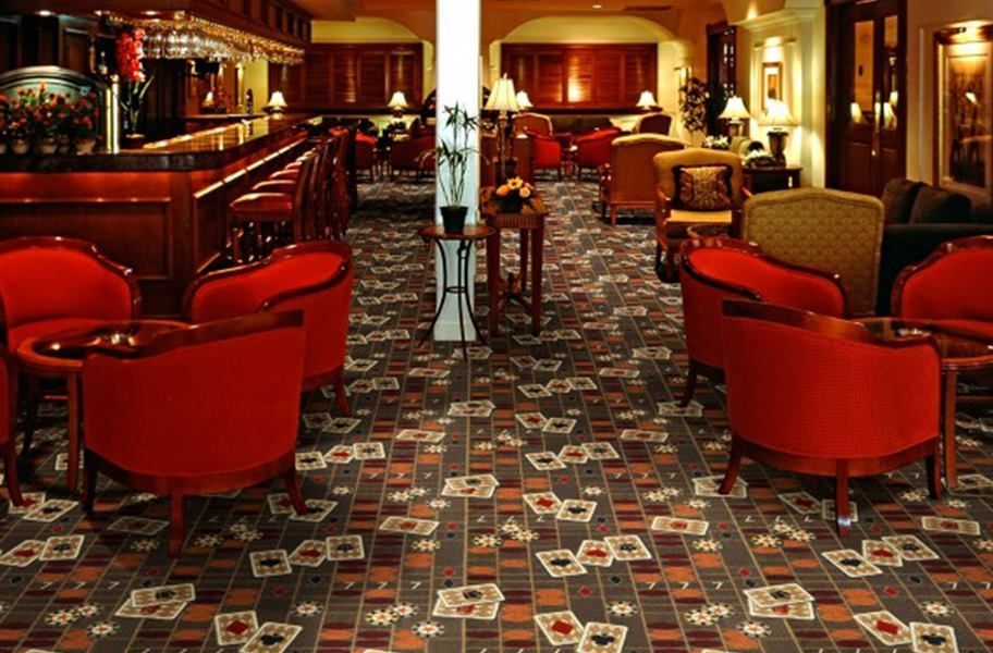 Joy Carpets Feeling Lucky Carpet - Chocolate