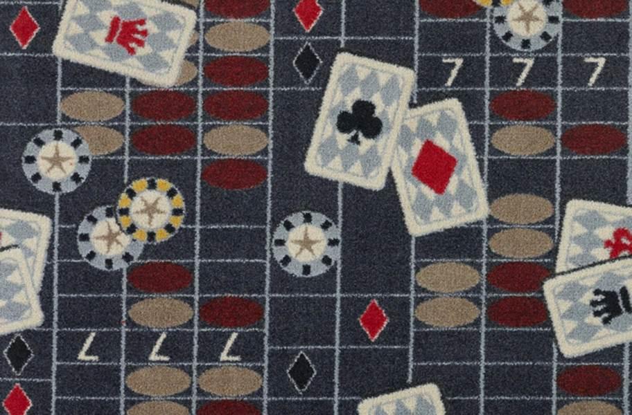 Joy Carpets Feeling Lucky Carpet - Charcoal