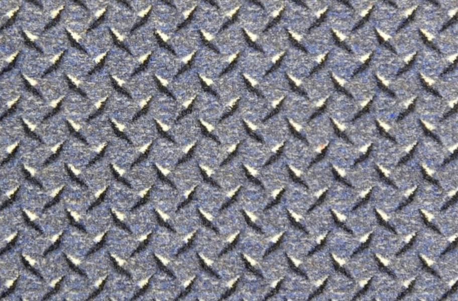 Joy Carpets Diamond Plate Carpet - Lead