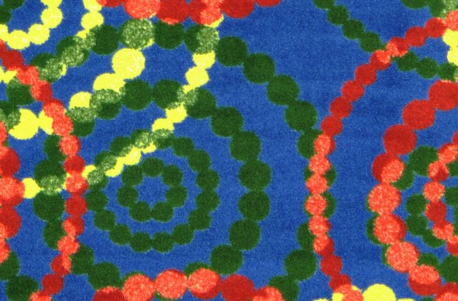 Joy Carpets Dottie Carpet - Rainbow
