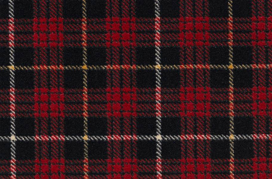 Joy Carpets Bit O' Scotch Carpet - Lumberjack Red