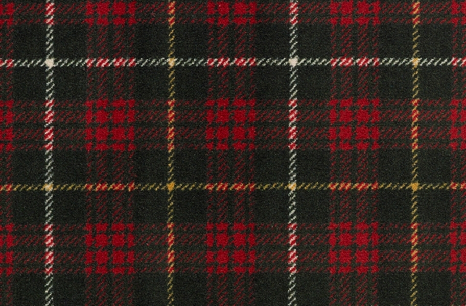 Joy Carpets Bit O' Scotch Carpet - Tartan Green