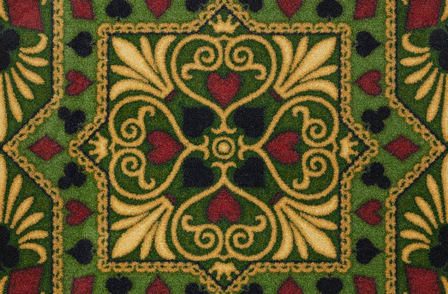 Joy Carpets Jackpot Carpet - Emerald
