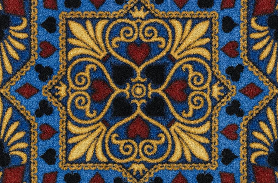 Joy Carpets Jackpot Carpet - Navy