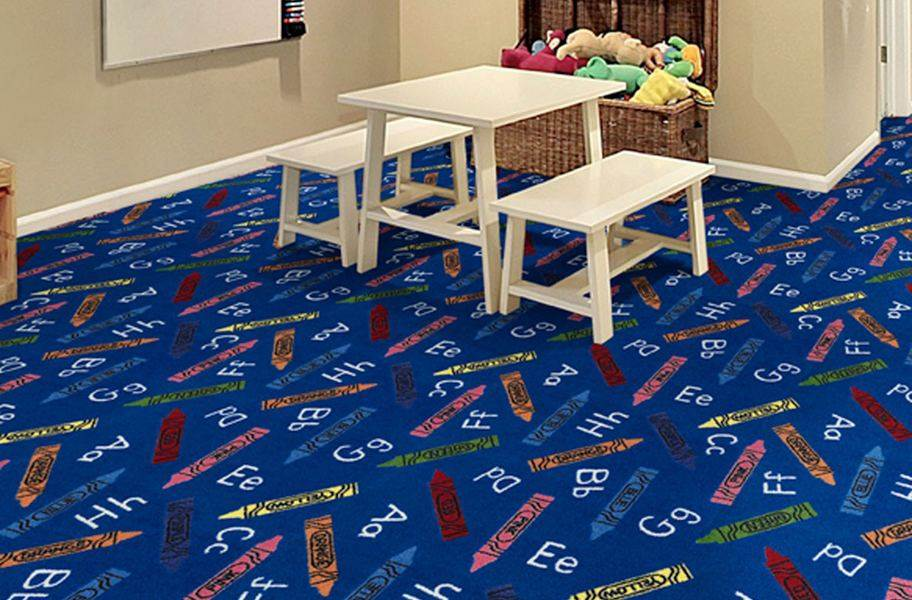 Joy Carpets Crayons Carpet