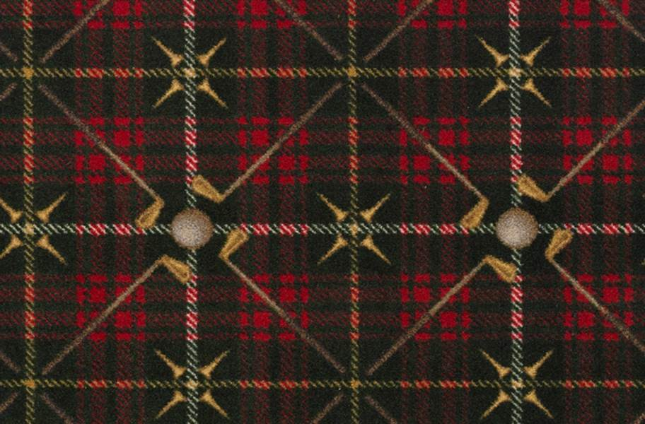 Joy Carpets Saint Andrews Carpet - Tartan Green