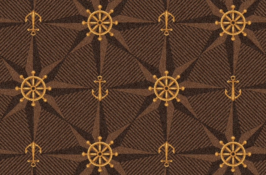 Joy Carpets Mariner's Tale Carpet - Chocolate