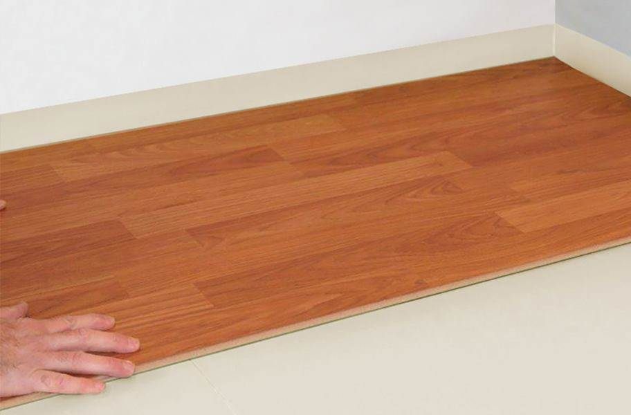FloorMuffler LVT with UltraSeal