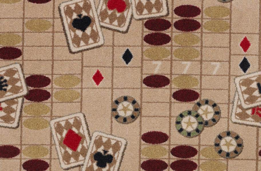 Joy Carpets Feeling Lucky Carpet - Beige