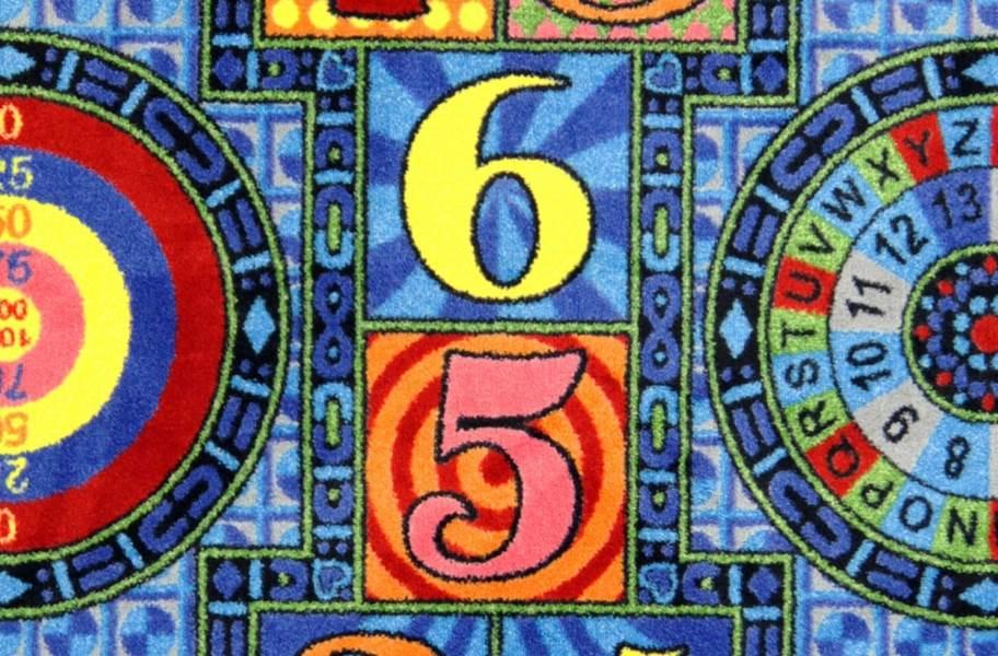 Joy Carpets Joy Games Carpet - Sapphire