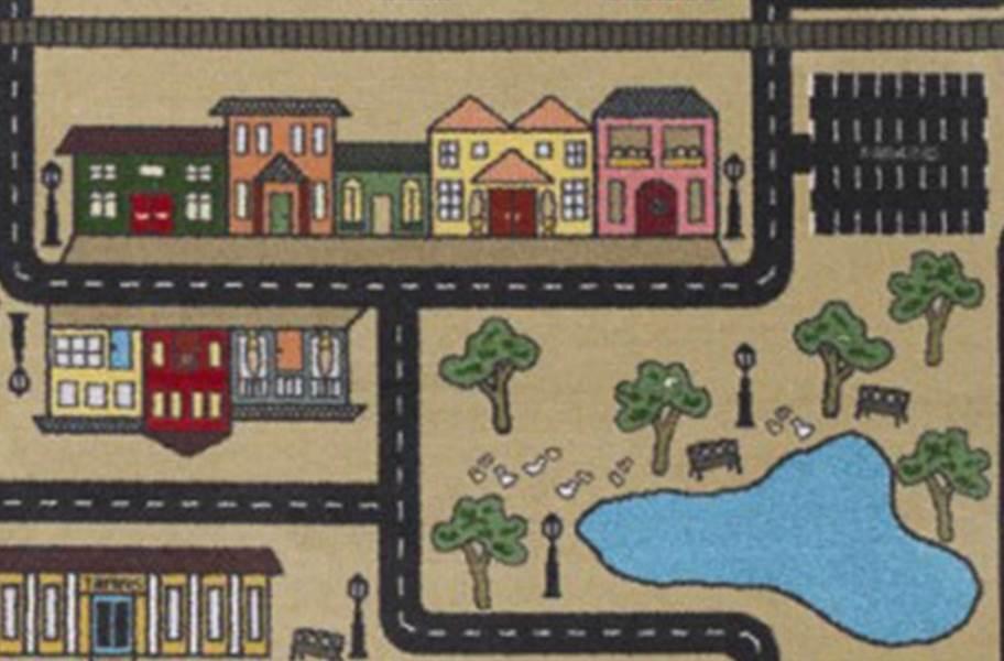Joy Carpets Tiny Town Carpet - Sandstone