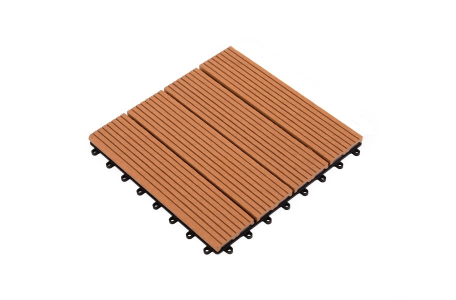 Helios Deck Tiles (4 Slat) - Red