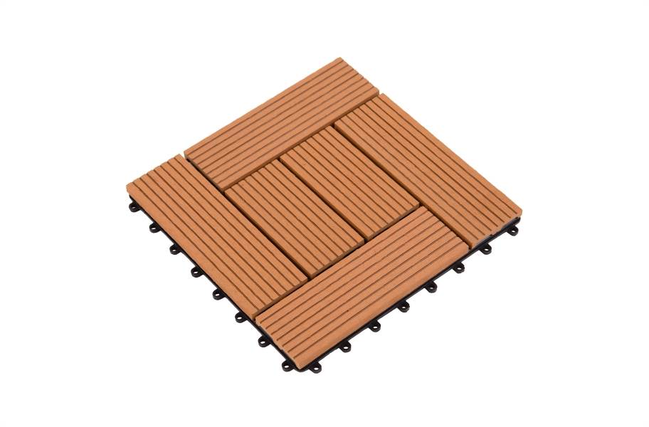 Helios Deck Tiles (6 Slat) - Red