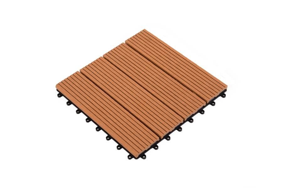 Helios Deck Tiles (4 Slat) - Red