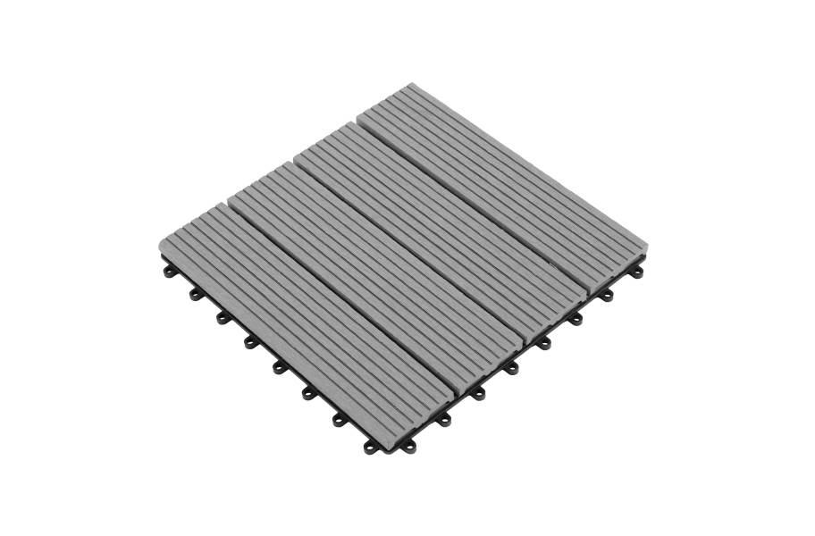 Helios Deck Tiles (4 Slat) - Gray