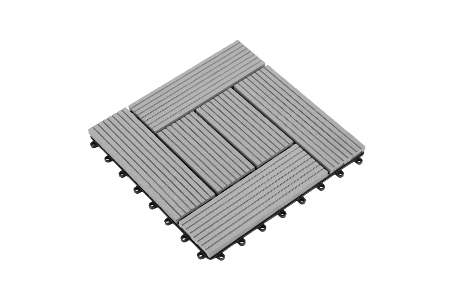 Helios Deck Tiles (6 Slat) - Gray