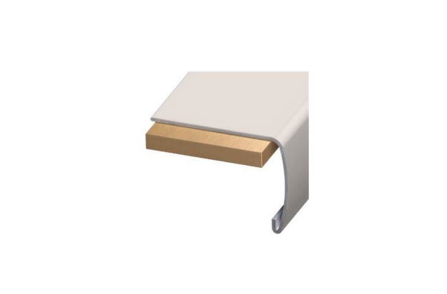 """Lux Haus 2"""" x 1.5"""" x 94"""" Stair Nose"""