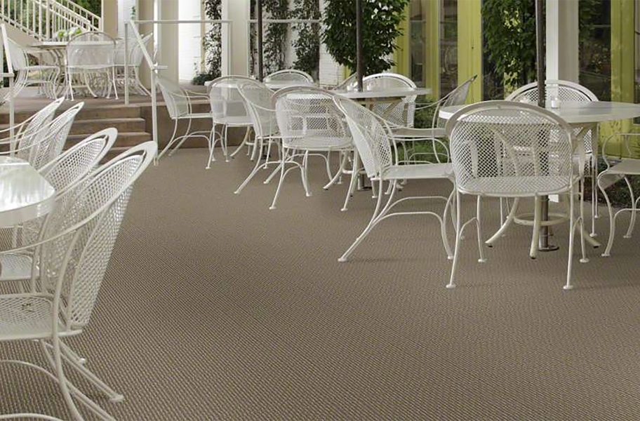 Shaw Pattern Play Outdoor Carpet - Bayou