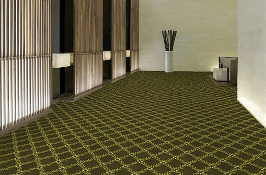 Shaw Cannonboro Carpet - Arbor Green