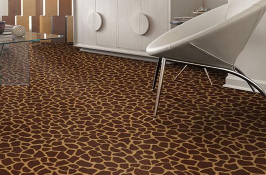 Shaw Giraffe Carpet - Tip Top