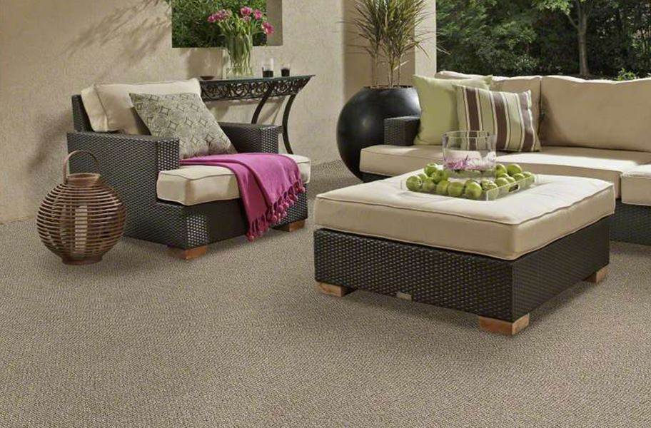 Shaw Natural Path Outdoor Carpet - Macrame