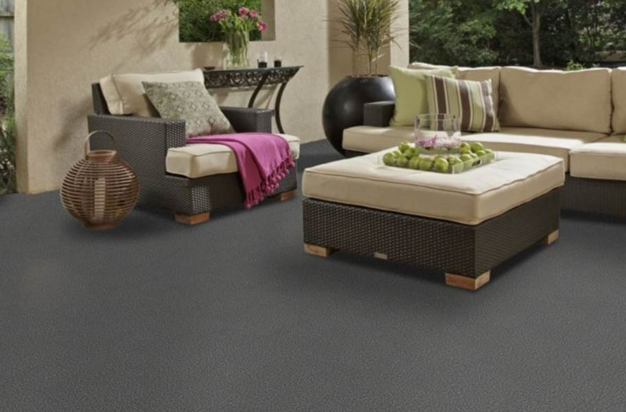 Shaw Windsurf Outdoor Carpet - Drizzle