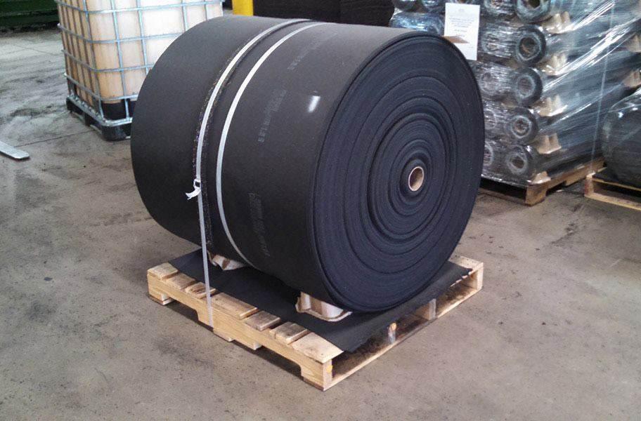 Anti-Skid Rubber Rolls - Bulk