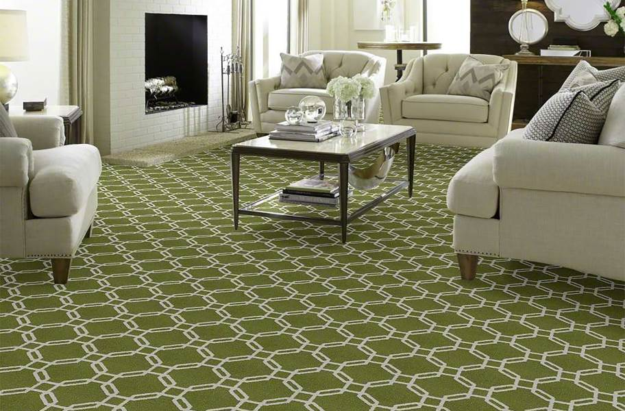 Shaw Defined Beauty Waterproof Carpet - New Leaf