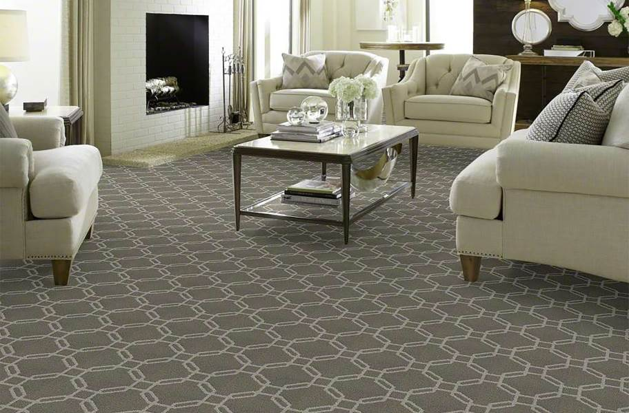 Shaw Defined Beauty Waterproof Carpet - Cool Slate