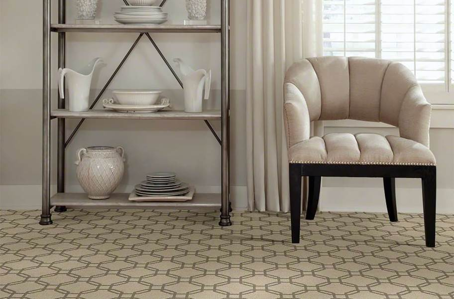Shaw Defined Beauty Waterproof Carpet - Divine