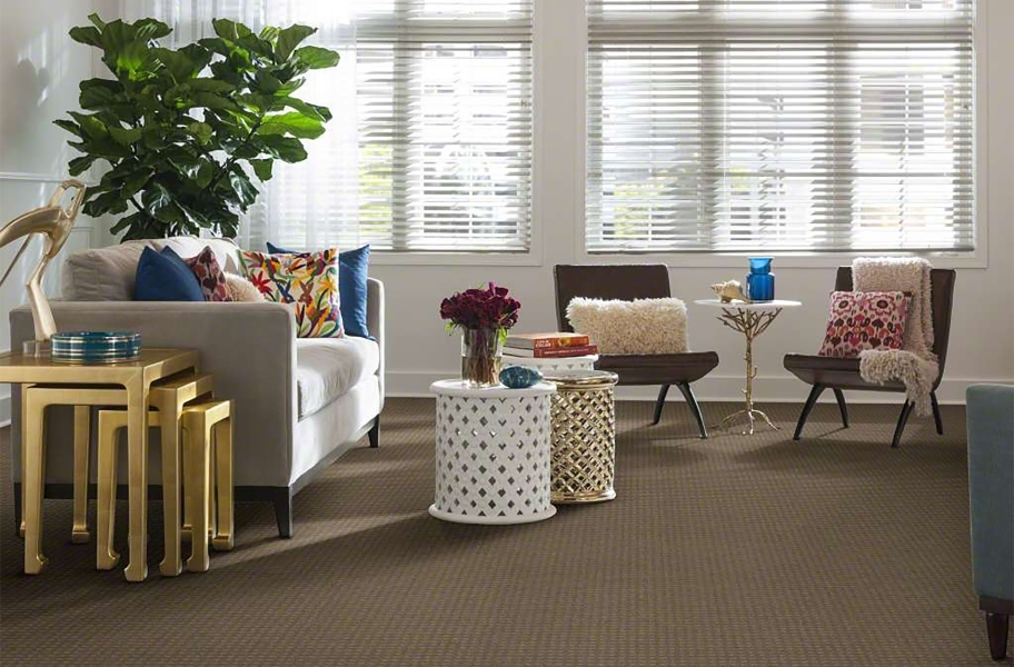 Shaw Creating Possibilities Waterproof Carpet - Stately