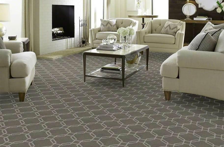 Shaw Defined Beauty Waterproof Carpet - Cool Slate