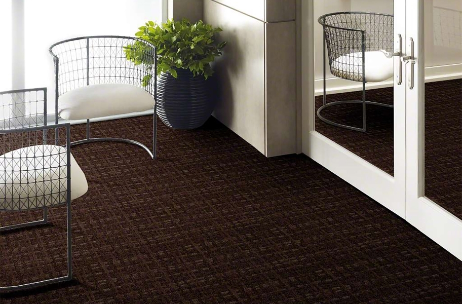 Shaw Pure Envy Carpet - Rich Chocolate