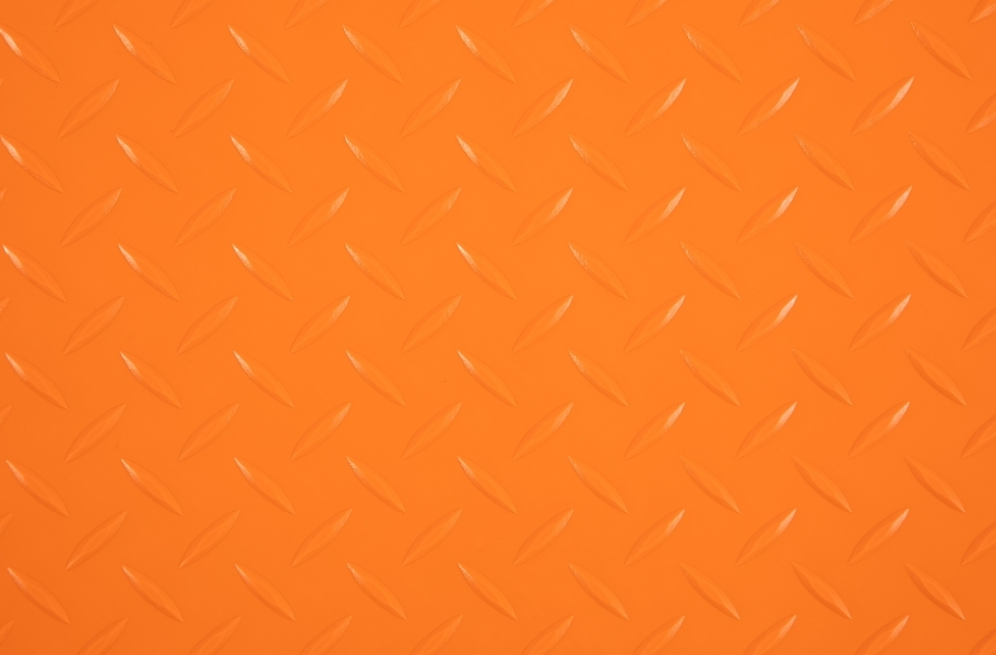 Diamond Nitro Roll - Motorcycle Mats - Orange