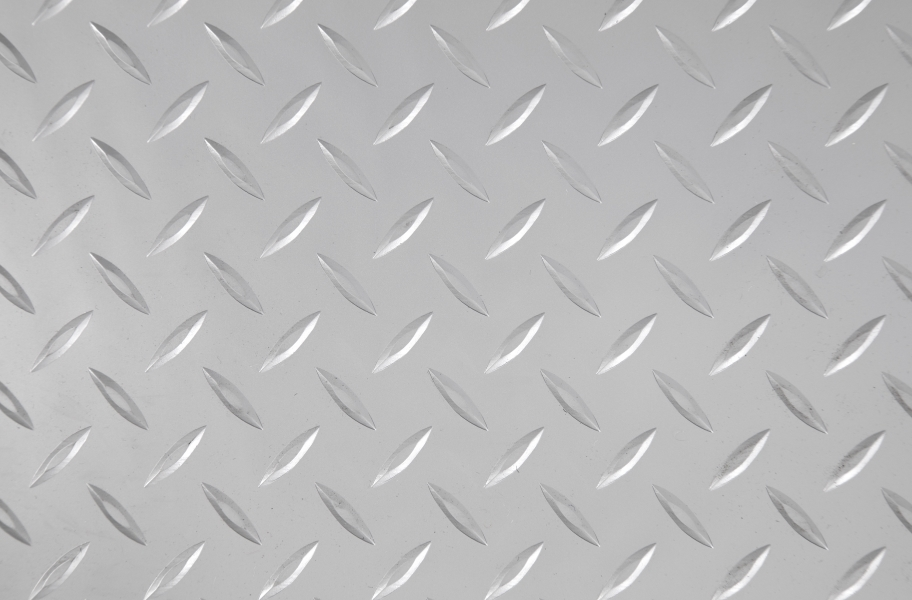 Diamond Nitro Roll - Motorcycle Mats - Stainless Steel